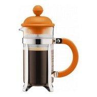 Bodum Кофейник с прессом Caffettiera (0.35 л), оранжевый