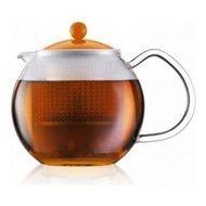 Bodum Чайник заварочный Assam (0.5 л), оранжевый