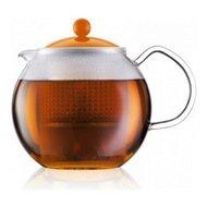 Bodum Чайник заварочный Assam (1 л), оранжевый