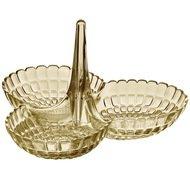 Guzzini Менажница Tiffany, 25х23.5х15.5 см, песочная