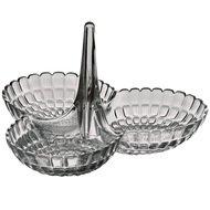 Guzzini Менажница Tiffany, 25х23.5х15.5 см, серая