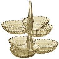Guzzini Набор менажниц Tiffany, 25х23.5х15.5 см, 2 шт., песочный
