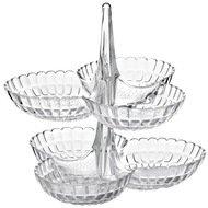 Guzzini Набор менажниц Tiffany, 25х23.5х15.5 см, 2 шт., прозрачный