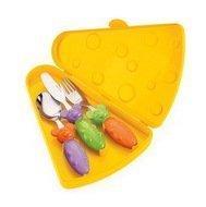 Guzzini Набор столовых приборов Tip Top Tap, 4 шт., в подарочной упаковке