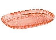 Guzzini Поднос Tiffany M, 32х22.5х3 см, коралловый