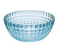 Guzzini Салатница Tiffany L (3 л), 25 см, голубая