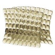 Guzzini Салфетница Tiffany, 15.2х7.6х11 см, песочная