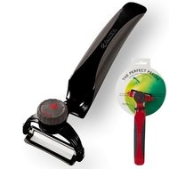 Kyocera Овощечистка Perfect Peeler, с поворотным устройством, черная