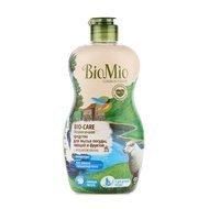 BioMio Экологичное средство для мытья посуды, овощей и фруктов без запаха с экстрактом хлопка и ионами серебра (0.45 л)