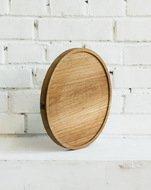 Fuga Доска круглая с углублением, 30х3 см