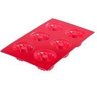Westmark Форма для 6-ти маффинов, красная