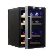 Cold Vine Винный шкаф (33 л), на 12 бутылок, термоэлектрический, черный
