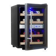 Cold Vine Винный шкаф (33 л), на 12 бутылок, термоэлектрический, серый