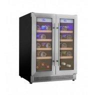 Cold Vine Винный шкаф (100 л), на 30 бутылок, серый