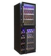 Cold Vine Винный шкаф (413 л), на 142 бутылки, черный