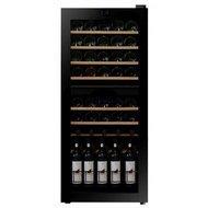 Dunavox Винный шкаф (128 л), на 46 бутылок, черный