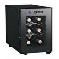 Dunavox Винный шкаф (16 л), на 6 бутылок, черный