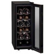 Dunavox Винный шкаф (33 л), на 12 бутылок, черный