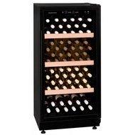 Dunavox Винный шкаф (188 л), на 70 бутылок, черный