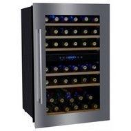 Dunavox Винный шкаф (130 л), на 41 бутылку, серый