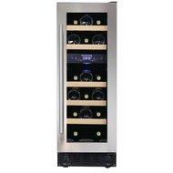 Dunavox Винный шкаф (57 л), на 17 бутылок, серый