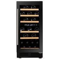 Dunavox Винный шкаф (81 л), на 32 бутылки, мультитемпературный, черный