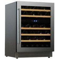 Dunavox Винный шкаф (146 л), на 46 бутылок, мультитемпературный, серый