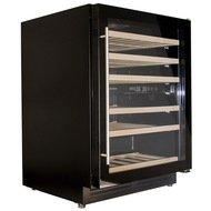 Dunavox Винный шкаф (150 л), на 51 бутылку, мультитемпературный, черный