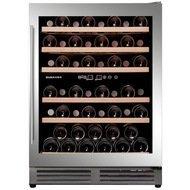 Dunavox Винный шкаф (150 л), на 51 бутылку, мультитемпературный, серый