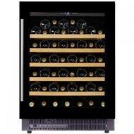 Dunavox Винный шкаф (146 л), на 52 бутылки, монотемпературный, черный
