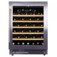 Dunavox Винный шкаф (146 л), на 52 бутылки, монотемпературный, серый