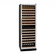 Dunavox Винный шкаф (428 л), на 166 бутылок, мультитемпературный, серый