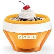 Zoku Мороженица Ice Cream Maker (150 мл), 13.8х9.4 см, оранжевая