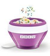 Zoku Мороженица Ice Cream Maker, 14х9.3х14 см, фиолетовая