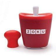 Zoku Набор для мороженого Single Quick Pop Maker, красный