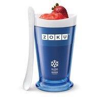 Zoku Форма для десертов Sluch & Shake (240мл), 10х16.6см, синяя