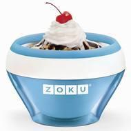 Zoku Мороженица Ice Cream Maker (150 мл), 13.8х9.4 см, синяя