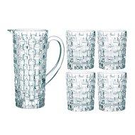Nachtmann Набор стаканов для виски Bossa Nova (330 мл) с графином, 5 пр.