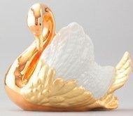 Rudolf Kampf Конфетница-лебедь, 20 см