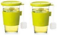 Glasslock Набор стаканов для горячих напитков (0.5), 2 пр.