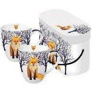 Paperproducts Design Набор кружек чайных Winter Fox (0.35л), 2шт