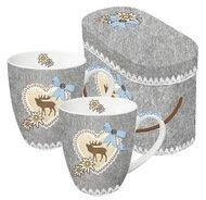 Paperproducts Design Набор кружек чайных Oktoberfest Emblem (0.35 л), 2 шт.