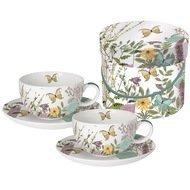 Paperproducts Design Набор чашек для капучино Kensington Garden (0.2 л), в подарочной коробке, 4 пр.
