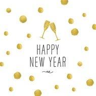 Paperproducts Design Салфетки Happy New Year! бумажные, 16.5х16.5 см, 20 шт.