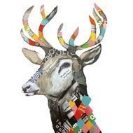 Paperproducts Design Салфетки Happy Regalia Deer бумажные, 16.5х16.5 см, 20 шт.