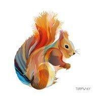 Paperproducts Design Салфетки Leros Squirrel бумажные, 16.5х16.5 см, 20 шт.