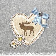 Paperproducts Design Салфетки Oktoberfest Emblem бумажные, 16.5х16.5 см, 20 шт.