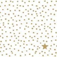 Paperproducts Design Салфетки The Star Money White бумажные, 16.5х16.5 см, 20 шт.