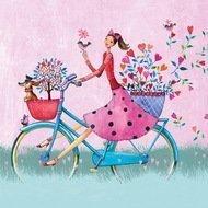 Paperproducts Design Салфетки Weekend on Bike бумажные, 16.5х16.5 см, 20 шт.