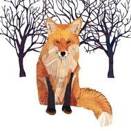 Paperproducts Design Салфетки Winter Fox бумажные, 16.5х16.5 см, 20 шт.